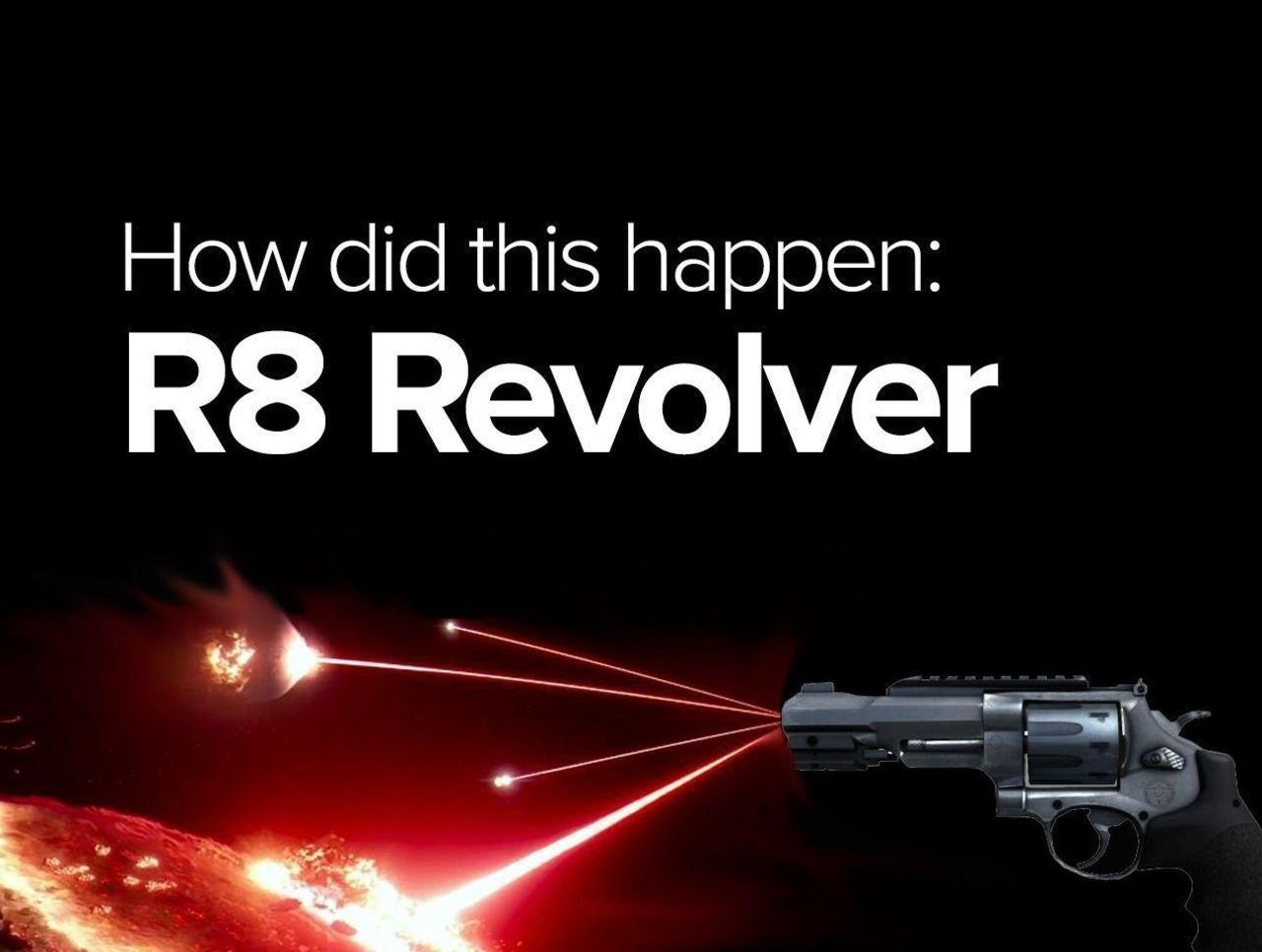 Cropped r8 revolver