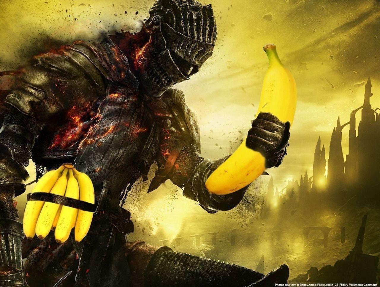 Cropped going bananas for dark souls  1