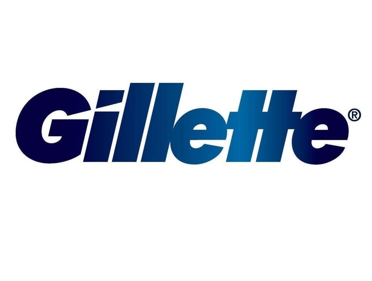 Cropped gillette logo blue