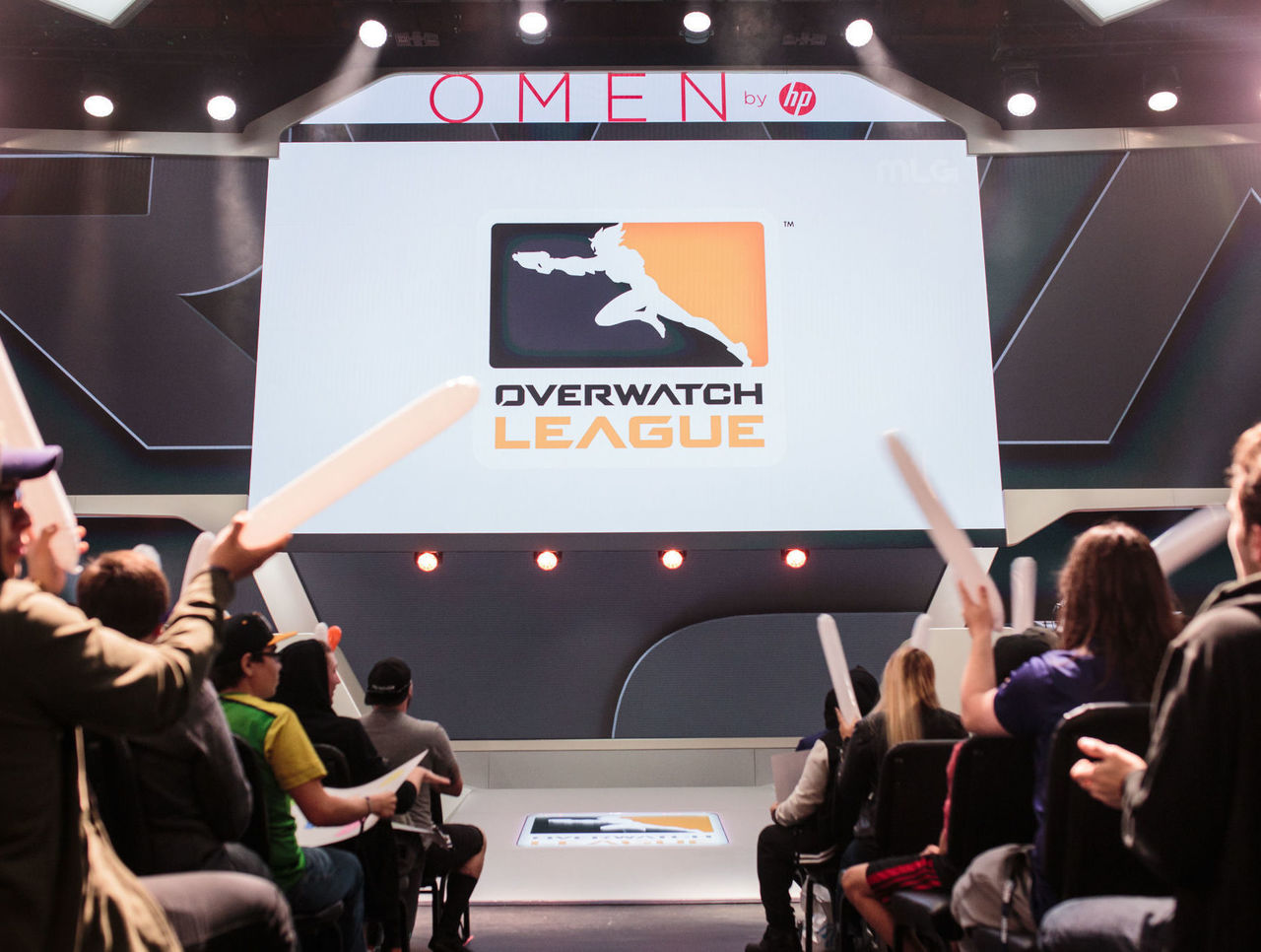 Cropped overwatch league and omen by hp logo